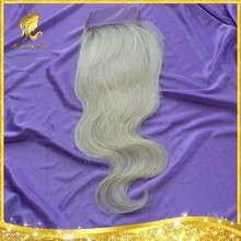"Free Parting Lace Closure 613# Color in Stock 8""-20"" Wholesale Unprocessed Brazilian Virgin Human Hair Fast Shipping"