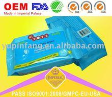 60pcs soft Baby Wipes (fragrance/No fragrance) rich aloe & vitamin E