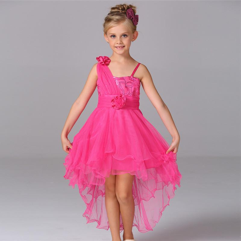 Niños vestidos de noche princesa niñas vestido del desgaste del ...