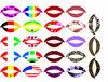 2016 Beauty sticker lips tattoo stickers