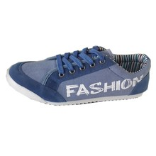 Fashion style men casual shoes canvas sneakers, wholesale casual fashion shoes
