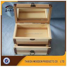 Hot Sale Popular Wooden Jewelry Box/Wedding Gift