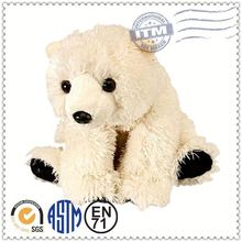 Customized plush toys manufacturer meet EN71 ASTM standard polar bear soft toys polar bear plush toy
