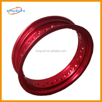 Latest hot sale cheap red performance sport rim 14 inch