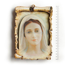 pure mary icons wooden fridge magnet