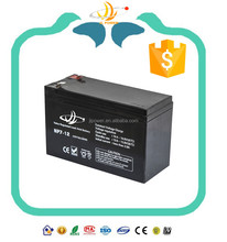 12v UPS Battery 12v 7ah Deep Cycle Solar recycle Battery Manufucturer in China