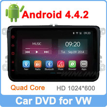 Ownice C200 Pure Android 4.4.2 Quad Core 1.6GHz car radio gps for VW polo with full with full touch screen+2GB DDR3 +16GB Flash