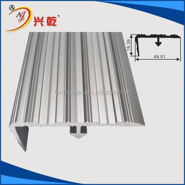 Aluminum Edge Protection : Metal tile edge protection trim aluminium flooring profile