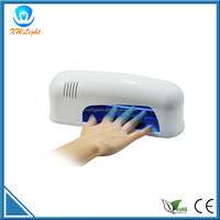 UV light nail dryer 9W air electric nail dryer
