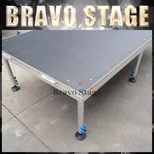 Bravo Stage Modular Stage Decoration Material Catwalk Aluminum Stage