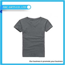 blank cotton t-shirts for men high quality fashion short sleeve t-shirt manufacture