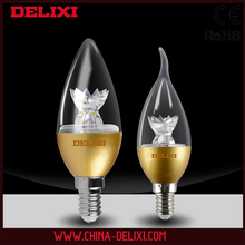 High performance E14 light candle led