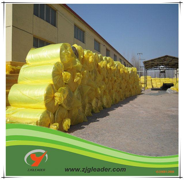 Material de aislamiento térmico de fibra de vidrio de lana