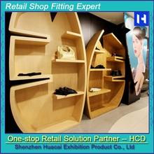 Wholesale Wall Wood Display Shelf Clothing Fashion Store Furniture
