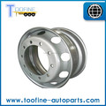 9.0 * 22.5 Hot venta OEM de acero inoxidable borde de la rueda para camiones