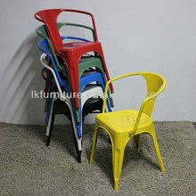 Outdoor Metal Dining Chair Vintage Chair Available In Different Colors
