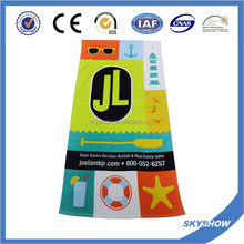 100 % Cotton Custom Printed Beach Towel With OEKO-TEX Standard100