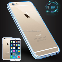 Smart phone case for iphone 6s, for iPhone 6 clear back cover case hard acrylic case, China supplier