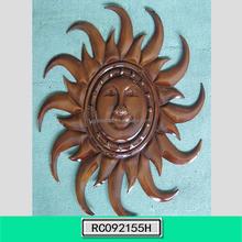 Decorative Sun Wall Art Metal