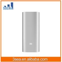 100% Original Aluminum colorful xiaomi power bank ,mi power bank