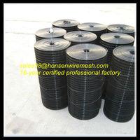 2013 look direct factory price Black vinyl steel trellis welded wire mesh rolls for fence
