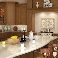 gabinete de cocina mueble de madera