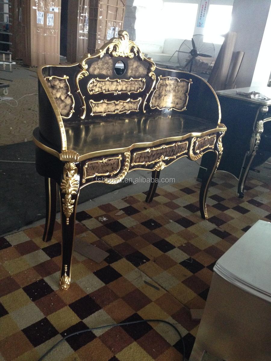 Luxe zwart en goud dressoir, arabische antieke kaptafel dressoirs ...