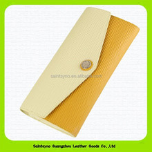 15409 Hot new products for 2015, genuine leather ladies purse