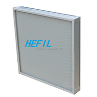 H13 HEPA filter Mini-pleated filter for electronic industry