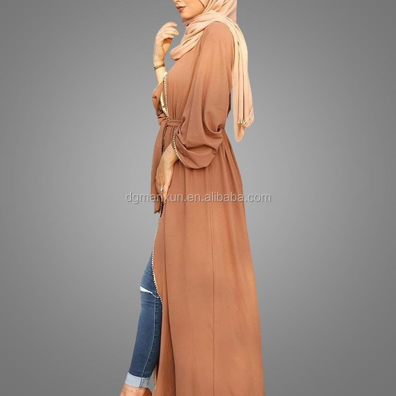 2017 New Designs Cardigan Muslim Women Abaya Muslim Islamic Names Open Abaya Kimono (3).jpg