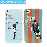 world cup football team series pc case for iphone 5