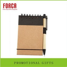Low price paper oem hardcover recycled memo pad/sticker paper/sticky note with pen