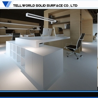 2015 Alibaba top office furniture manufacturer latest modern office table design photos