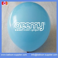 2000pcs 12'' balloon Printed 1 colour 1side logo free shipping to USA by DHL or FEDEX