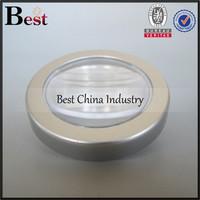 wholesale cosmetic 18/20/30/38/43/63/70mm jar lids cheap aluminum screw cap for vodka gold aluminum cap alibaba china supplier