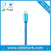 2015 hot selling PU Leather micro usb cable for samsung/andriod smart phones