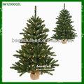 Soporte de fibra óptica lindo Mini LED árbol de Navidad
