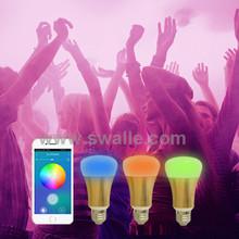 New Item E27 5W LED Light Bulb Smart Colorful RGB Bubble Lamp