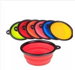 Hot sell silicone folding dog bowls