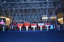 2015 World Table Tennis Championships Medal Award Flag Pole