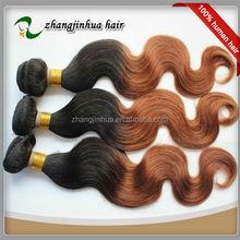 Top Quality Grade AAAAA peruvian body wave hair 1B 33 Hair Color