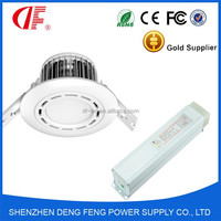 3 Watt 120lm LED(Non) Maintained Silver White Downlight Kit 1Hour with Emergency Conversion Kit