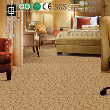 Nonwoven Wall To Wall Double Jacquard Carpet For Office Home