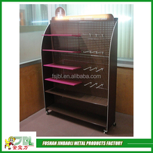 hot sale powder coating metal mobile phone charger display stand
