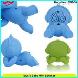 Innovative special style music speaker creative promotional gifts