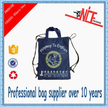 High quality fashion drawstring bag made by China supplier
