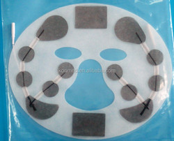 If you want to exquisite and smooth skin, you can try non-irritating tens face electrode pad