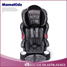 New model children car seat portable safety baby car chair for 0-12 years old baby