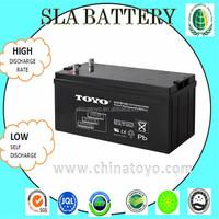 UPS inverter battery charger battery 12v150ah for Solar