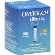 One Touch Ultra Blue Glucose Test Strips - 100 count